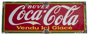 Coca Cola Strip Sign