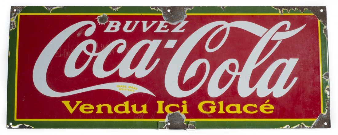 Coca Cola Strip Sign