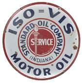 IsoVis Gas  Oil Sign
