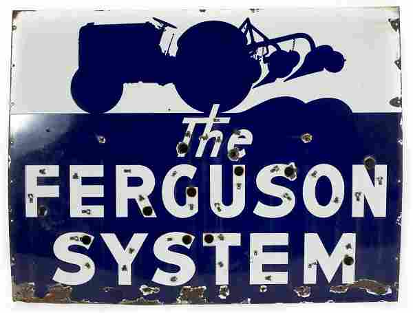 Ferguson System Tractor Sign