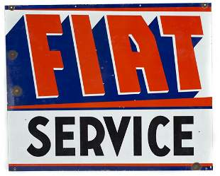 Fiat Dealer Sign