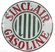 "Sinclair Gas 48"" Round Sign"