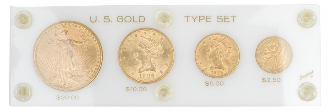 United States Gold Coin Type Set - 2