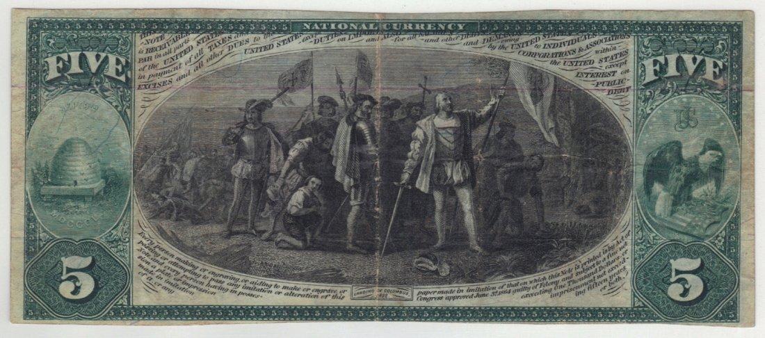 Salt Lake City, UT - Ch. 2059 - $5 1875 First Charter - 2