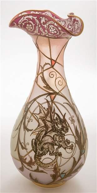 Mt. Washington Royal Flemish Vase