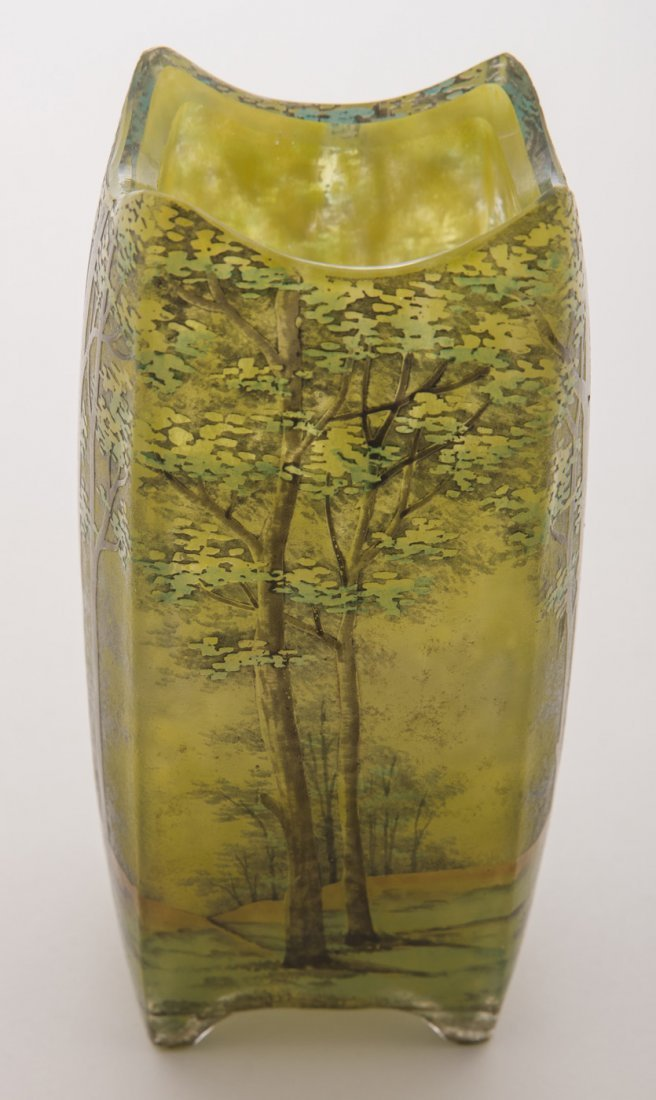 Daum Nancy Summer Vase
