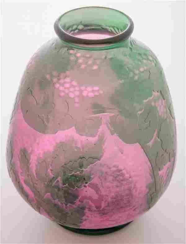 Daum Nancy Martele Vase