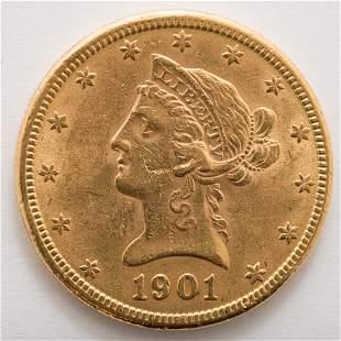 1901 $10 Liberty Gold Coin