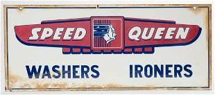 Speed Queen Washers Ironers Sign