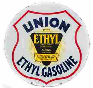 Union Ethyl Gasoline Curb Sign
