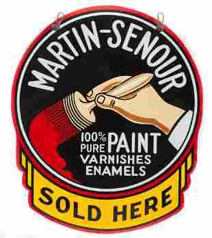 Martin-Senour Paint Die Cut Sign