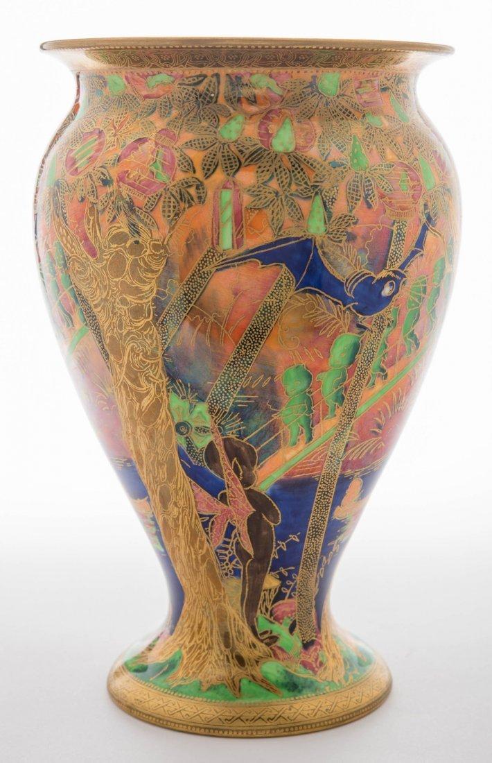 Wedgwood Fairyland Lustre Imps on a Bridge Vase