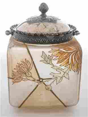 Mount Washington Royal Flemish Cracker Jar
