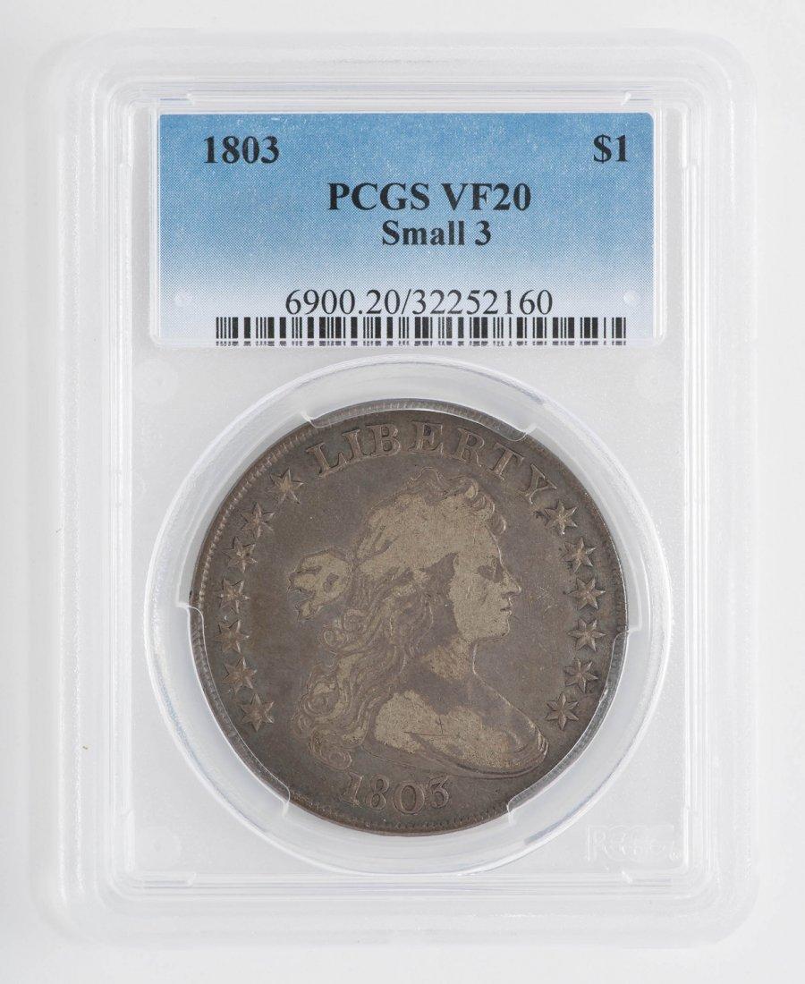 1803 Small 3 Draped Bust Dollar
