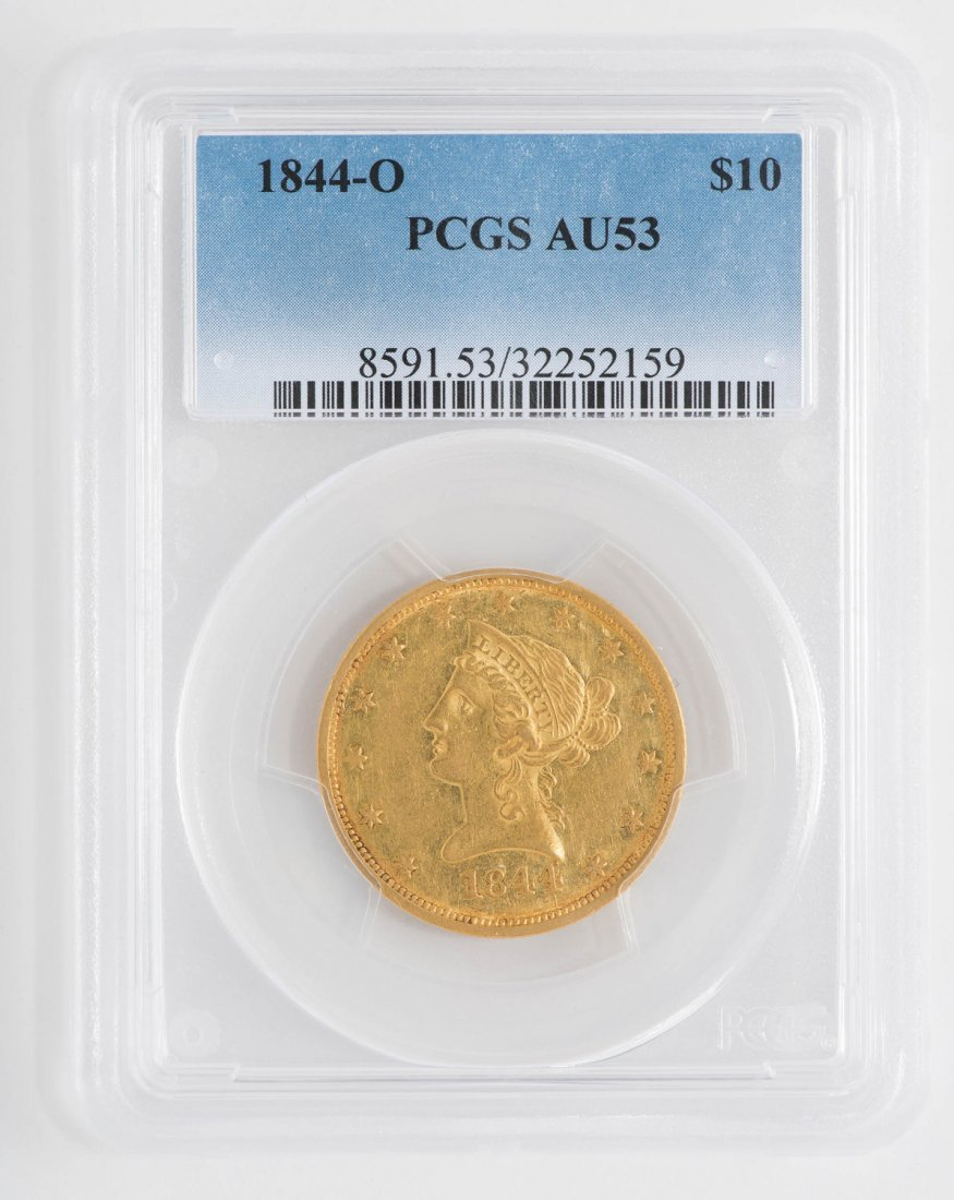 1844-O $10 Liberty Head Gold Coin