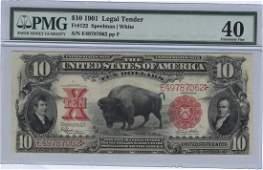 Fr. 122 - 1901 $10 Legal Tender