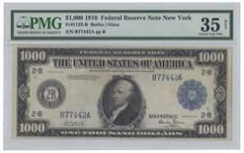 Fr. 1133-B - 1918 $1000 FRN
