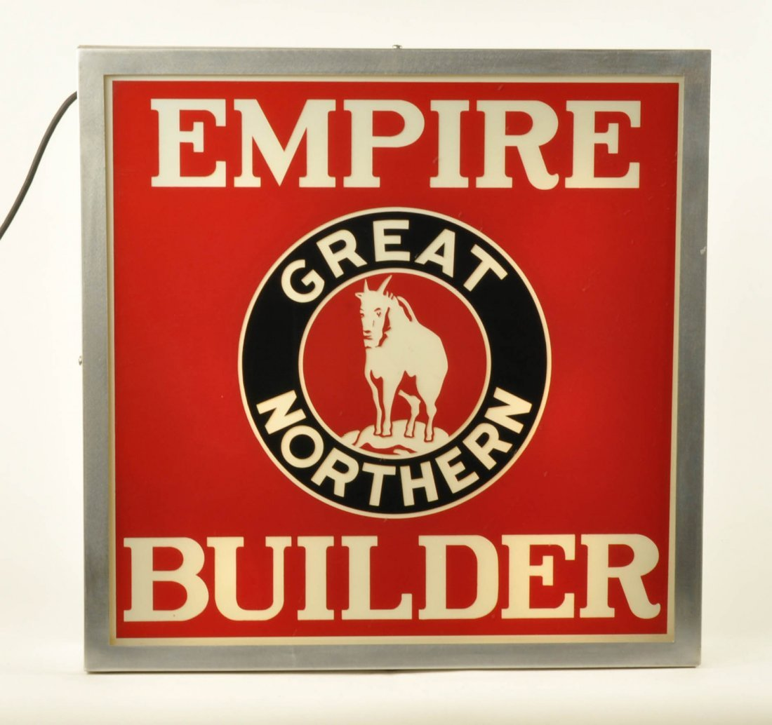 Great Northern Empire Builder Glass Drumhead - 2