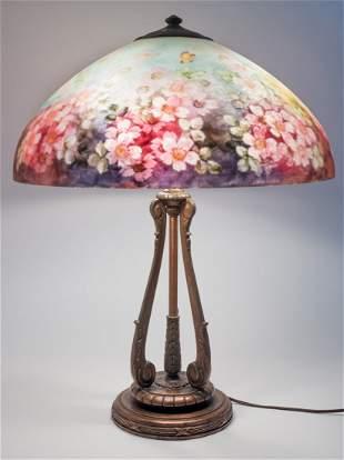 Handel Floral Table Lamp #6688