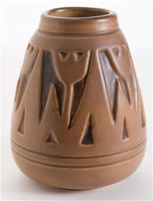 Julia Mattson NDSM Carved Tulip Vase