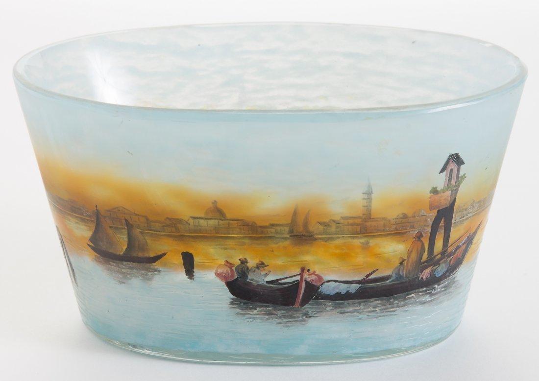 Daum Nancy Bowl with Venice Scene