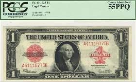 Fr. 40 - 1923 $1 Legal Tender