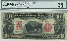 Fr. 116 - 1901 $10 Legal Tender