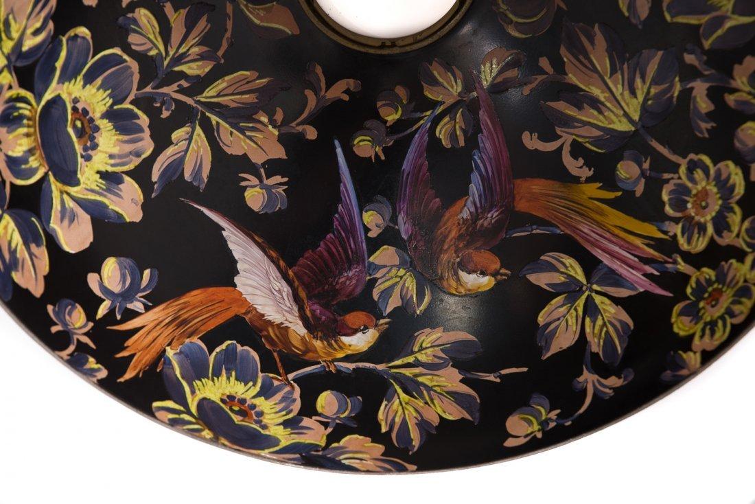 Handel Black Jungle Birds Lamp #7026 - 5