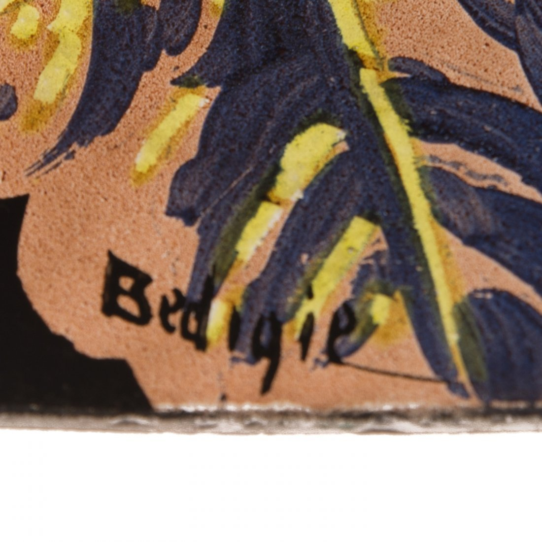 Handel Black Jungle Birds Lamp #7026 - 8