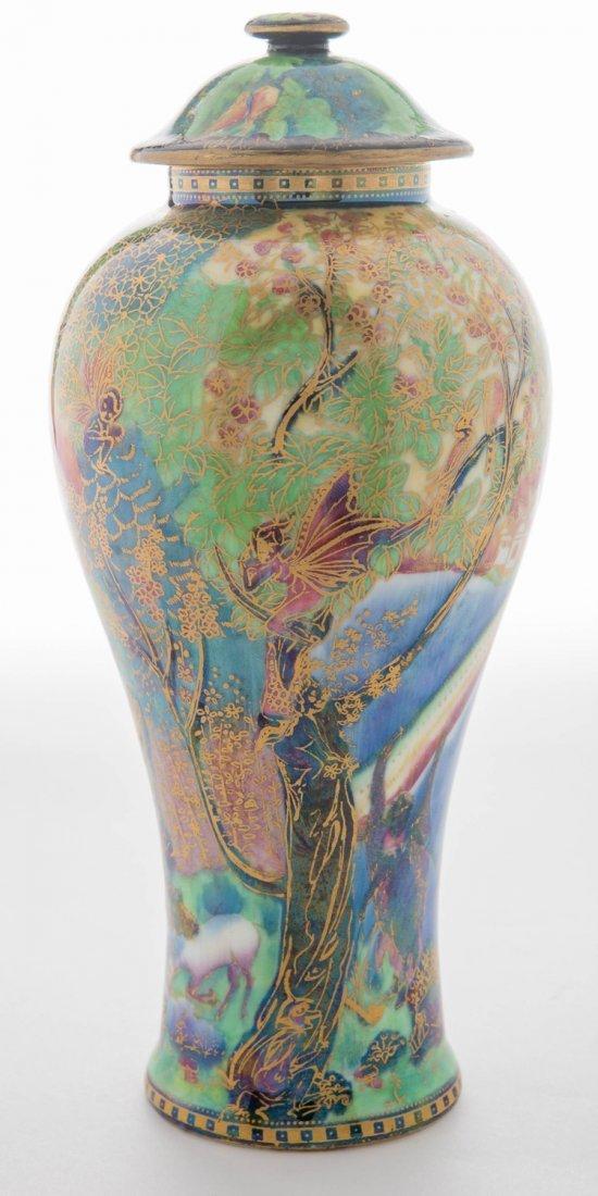 Wedgwood Fairyland Lustre Rainbow or Bifrost Vase
