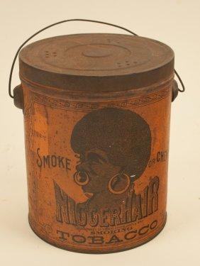 Niggerhair Tobacco Tin