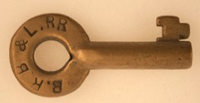 Boston Revere Beach & Lynn Railroad Key