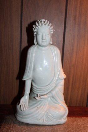 Antique Chinese Porcelain Buddha