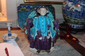Antique Chinese Porcelain Figure Statue
