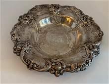 Gorham Sterling Silver Centerpiece Bowl Dish