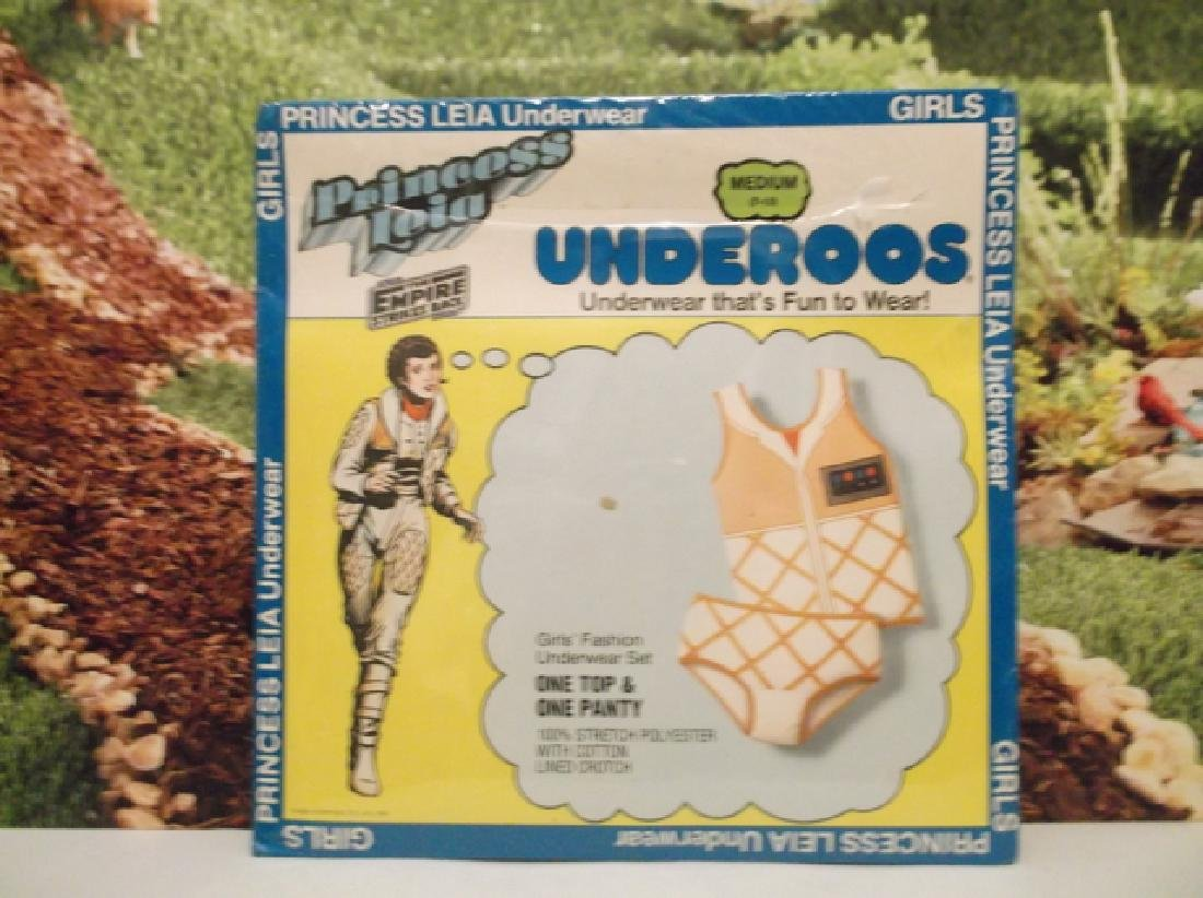 Sealed Vintage 1981 Star Wars Princess Leia Underoos