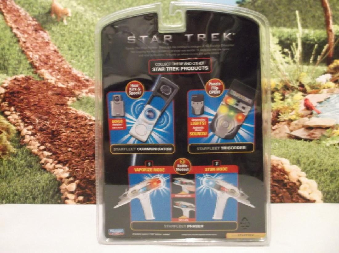 2009 Sealed Star Trek Starfleet Tricorder MOC - 5