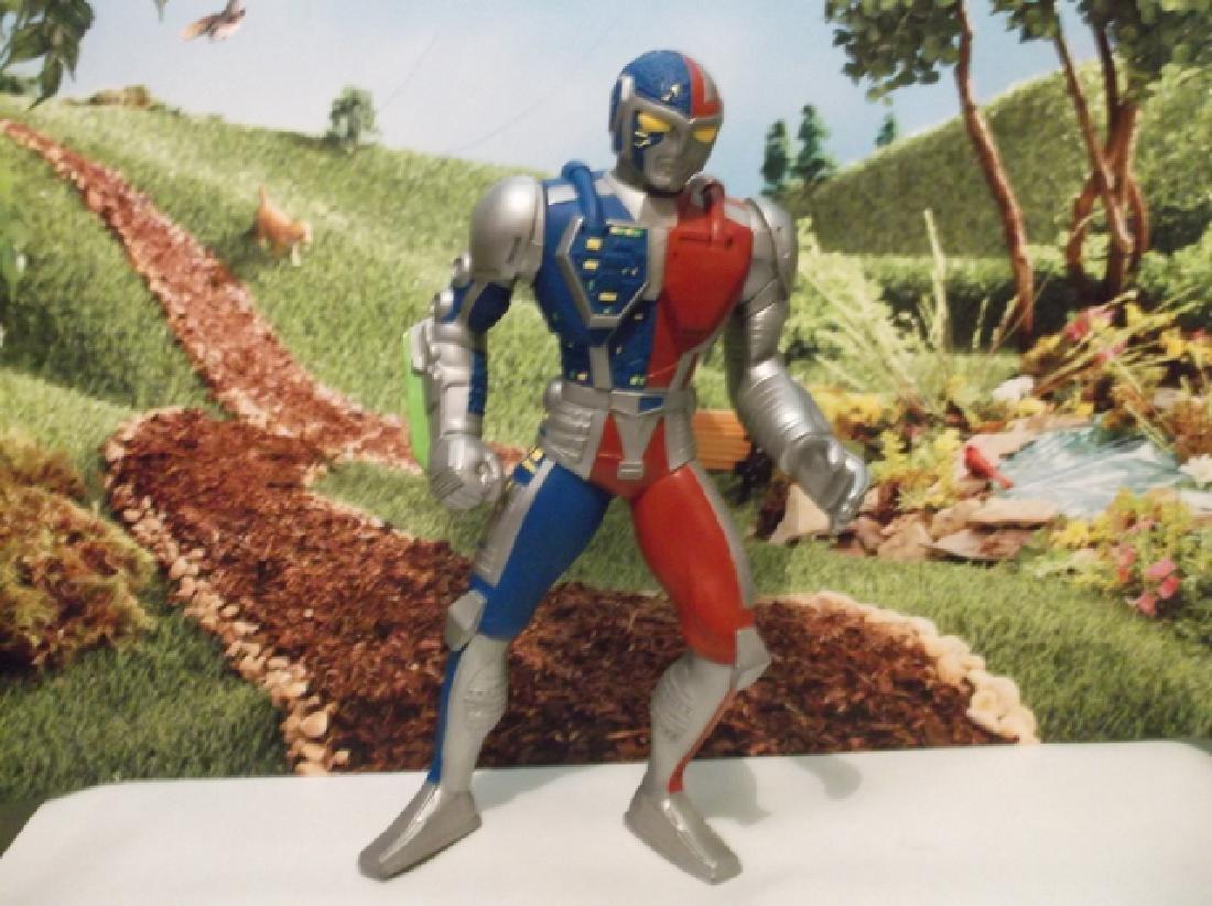 Vintage 1994 Large Saban Rubber Kenner Posable Ultraman