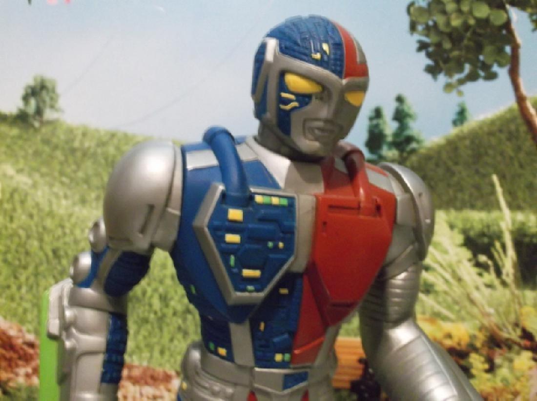Vintage 1994 Large Saban Rubber Kenner Posable Ultraman - 2