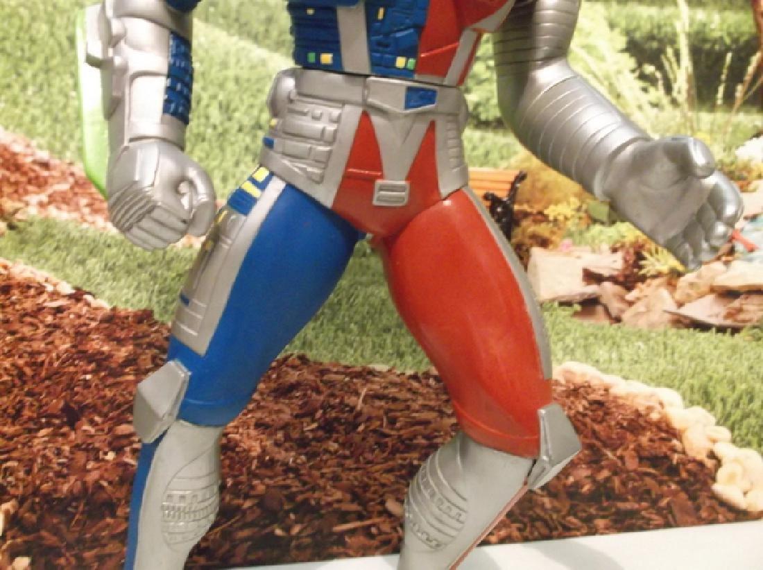 Vintage 1994 Large Saban Rubber Kenner Posable Ultraman - 3