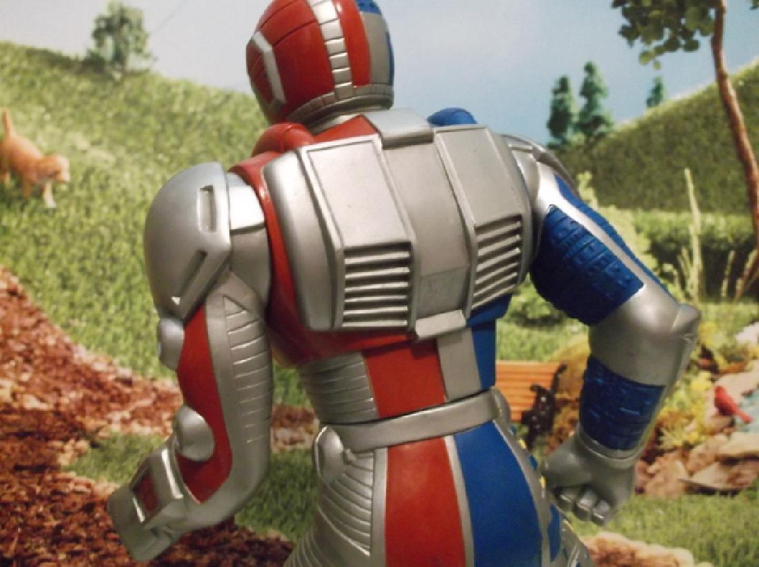 Vintage 1994 Large Saban Rubber Kenner Posable Ultraman - 5