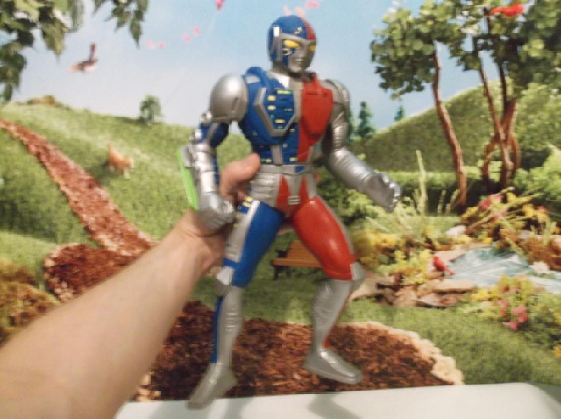 Vintage 1994 Large Saban Rubber Kenner Posable Ultraman - 6