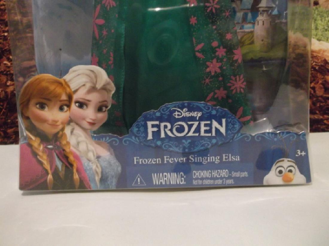 New Disney Frozen Fever Singing Elsa Barbie Doll MIB - 4