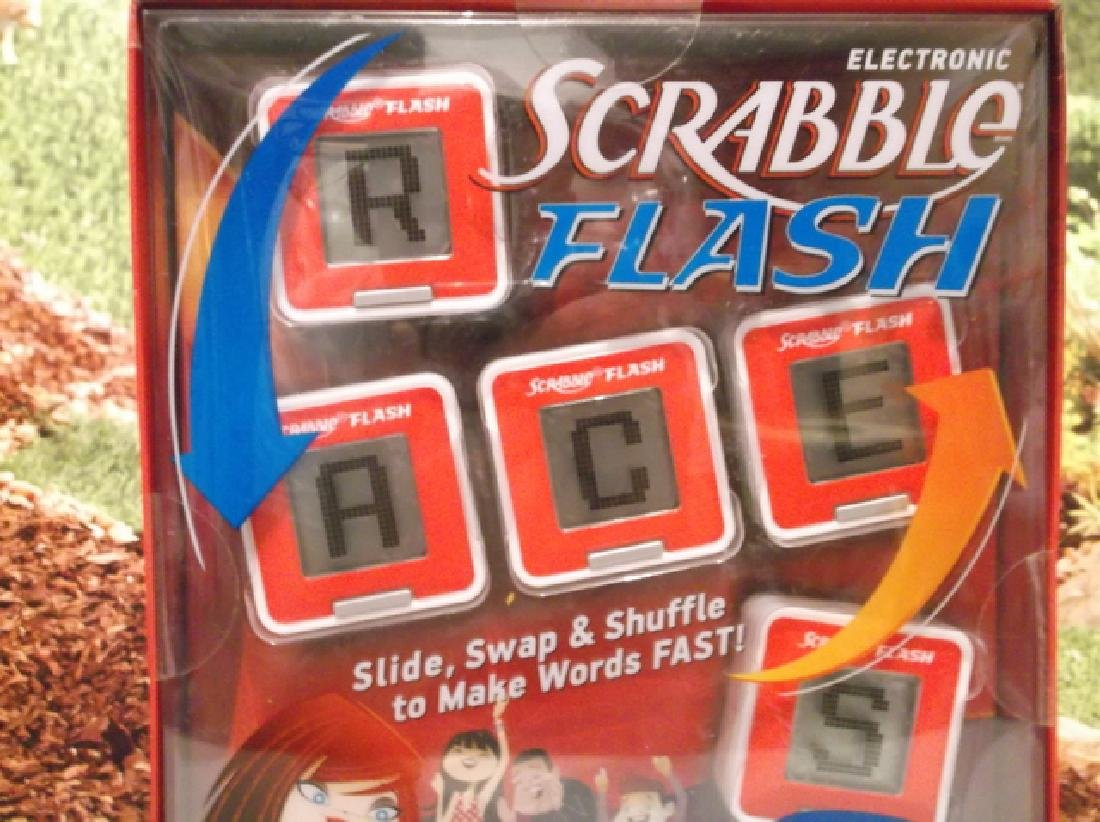 New Hasbro Scrabble Flash Electronic Game Sealed MIB - 2