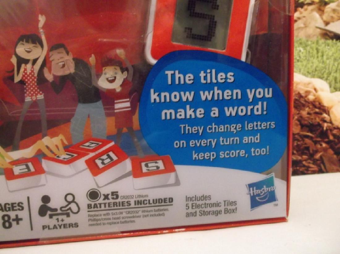 New Hasbro Scrabble Flash Electronic Game Sealed MIB - 3