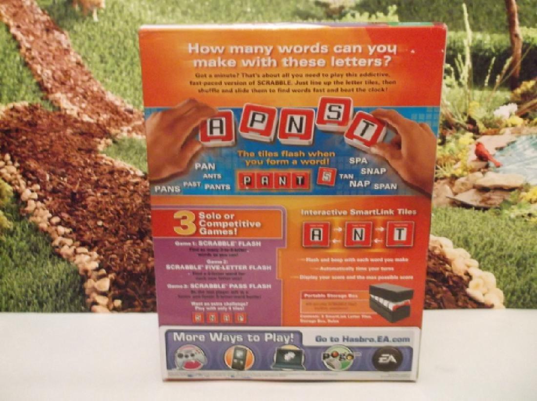 New Hasbro Scrabble Flash Electronic Game Sealed MIB - 5