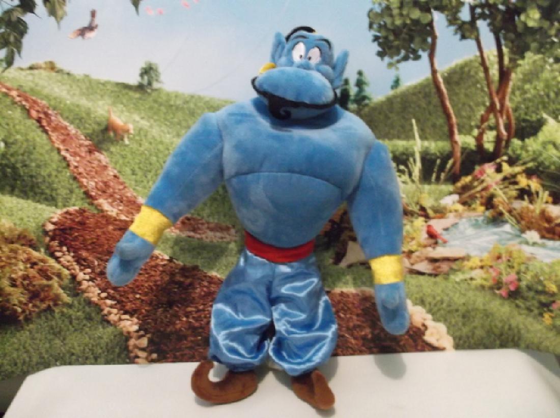 Mint Large Disney Store Aladdin Genie Plush 12 Inch