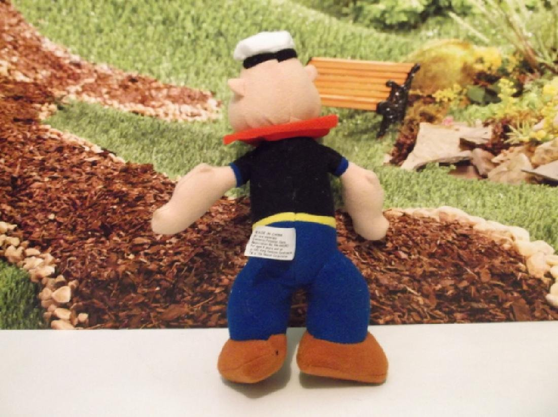 Vintage Popeye The Sailor Man Plush Ex Condition - 3