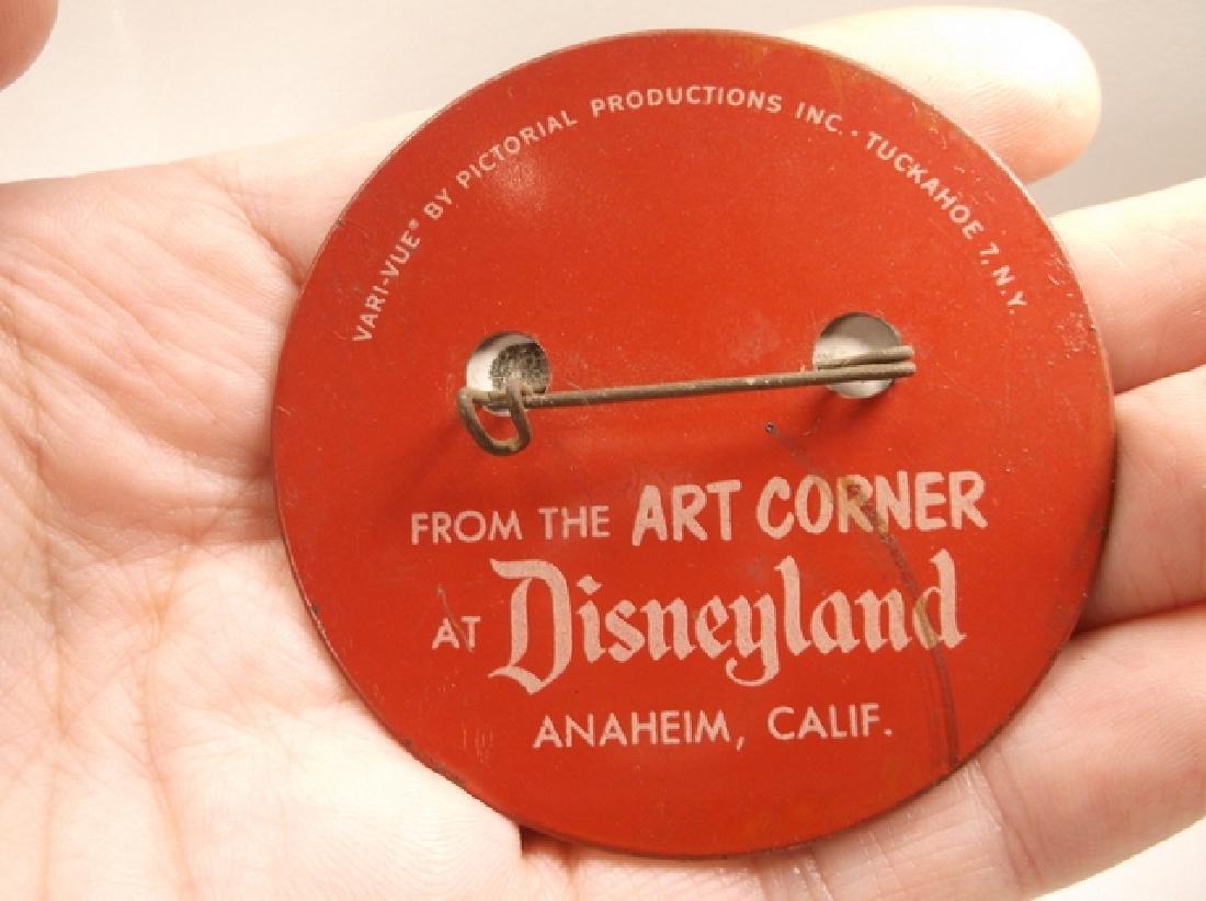 Vintage 1970s Disney Im Goofy For Disneyland Pinback - 4
