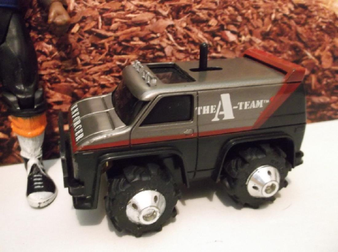 Vintage 1982 A-Team Mr. T Action Figure & Rough Riders - 2
